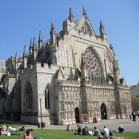 Exeter Cathedral, west front